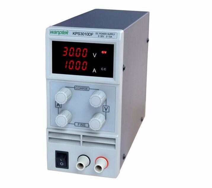 wanptek kps3010df 0-30V/0-10A 110V-230V 0.1V/0.001A EU LED Digital Adjustable Switch DC Power Supply mA display variable dc 12v led display digital delay timer control switch module plc automation new