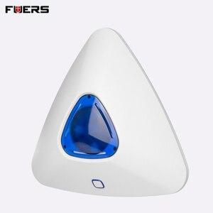 Image 2 - を FUERS 433 1800mhz の無線警報フラッシュサウンドライトサイレンセンサーため G90B プラス G90B 3 グラムホームセキュリティ盗難警報システム