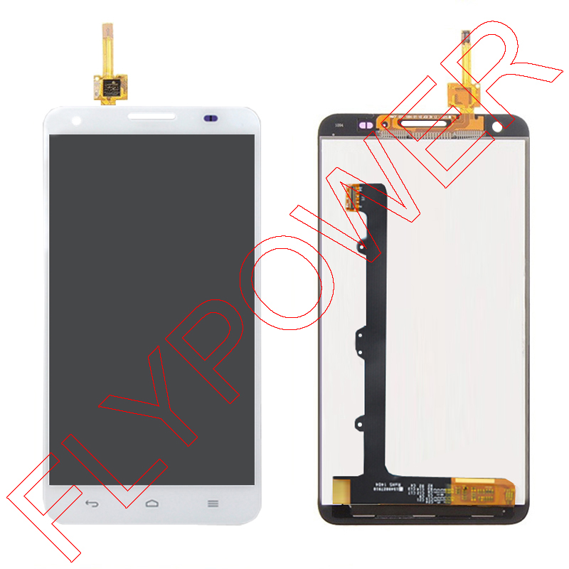For Huawei Honor 3X Ascend G750 LCD Screen Display with Touch Screen Digitizer Assembly white by free shipping;HQ;100% Warranty