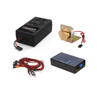 FATJAY G.T.POWER Container Truck Lighting and Voice Vibration System for RC trucks cars