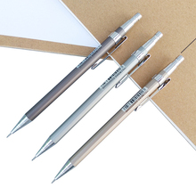 1 Piece Metal Mechanical Pencil Student Test Activity 0.5 / 0.7 Automatic Stationery