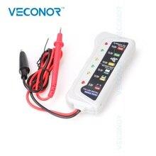 hot deal buy 12v led digital automotive battery tester alternator diagnostic tools for car motorbike
