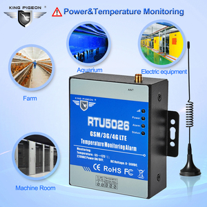 Image 2 - GSM 3G 4G LTE telemetría monitoreo de temperatura Medición de alarma 55 a 125 grados Celsius soporte reinicio remoto RTU5026