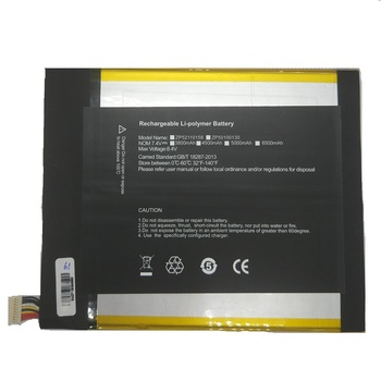 5000mAh Battery 7.4V for Cube i9 Tablet PC Kubi New Li-Po Polymer Rechargeable Accumulator Replacement 2877167 W/ 10 Lines+Plug