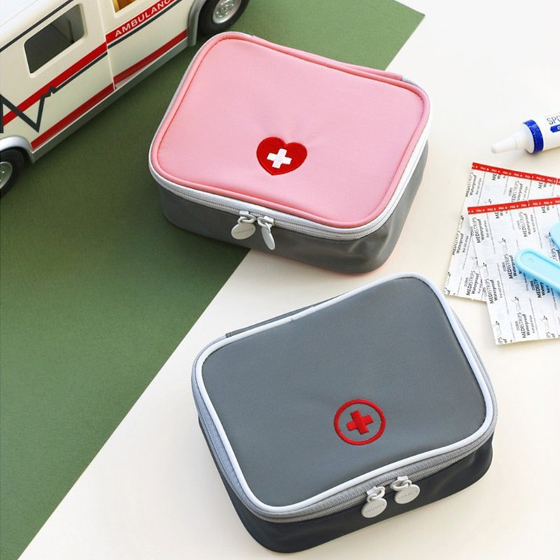 Travel Portable Fashion Mini Medicine Bag First Aid Kit Outdoor Camping Travel Home Survival Medical Kit