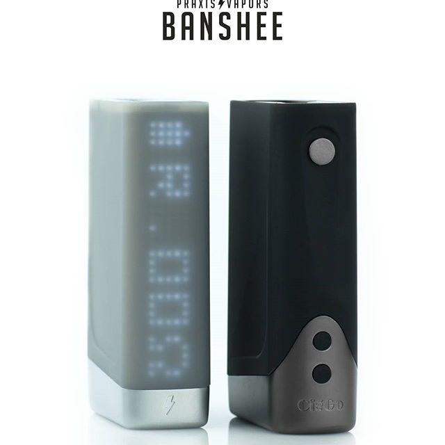 Vapor Banshee Mod 150W TC BOX Mod Battery Dual 18650 Temperature Control VS Touch 150 herbstick relax eco vaporizer perseus 150w tc box mod