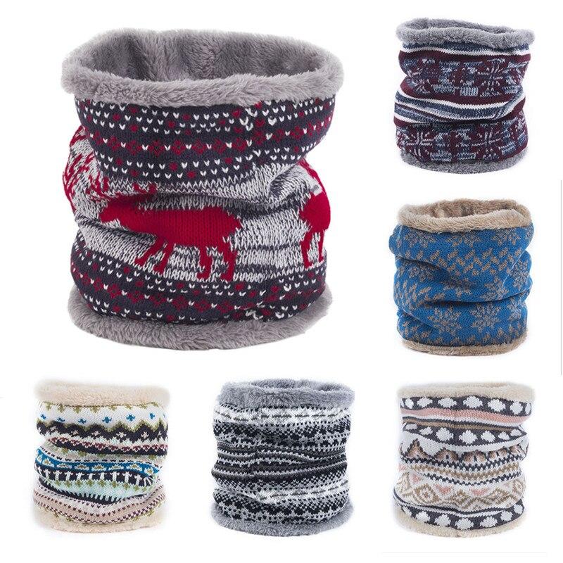 hirigin fashion Womens men Warm Cashmere Tube   Scarf   Children Knitted Shawls   Wraps     Scarves   unisex Winter   Scarf   Wool Collar Neck