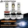 1 Set H8 LED Headlight H7 LED Headlight Kit 30000 Hrs 12000LM H16 H4 LED Bulb H3 H1 9005 9006 9007 H7 LED Bulb Light