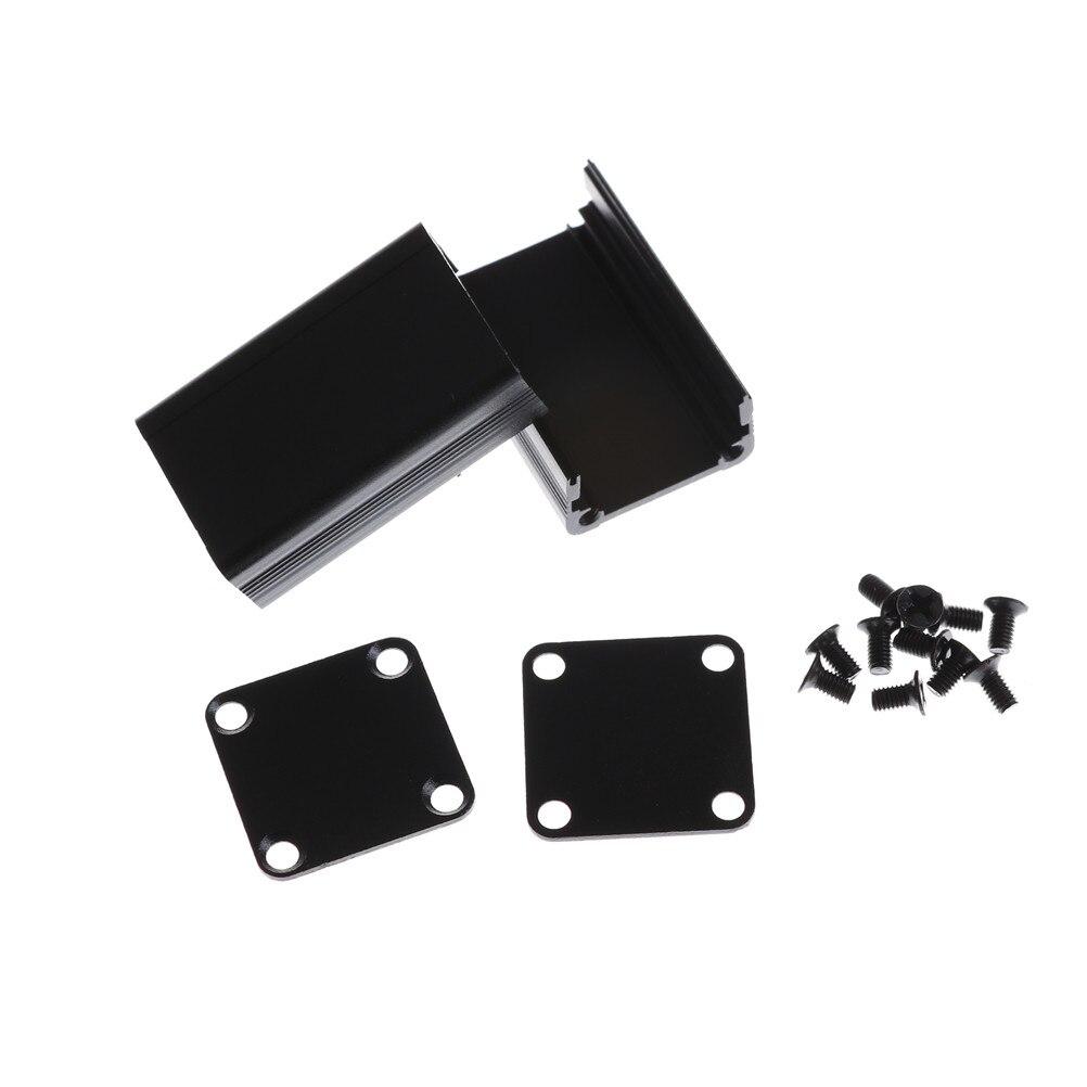 36.5x80x110mm Aluminum Enclosure Electronic DIY PCB Instrument Project Box Case