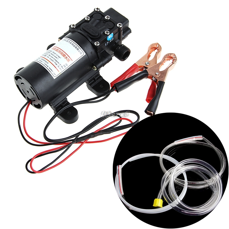 DC12V 5L Transfer Pump Extractor Oil Fluid Scavenge Suction Vacuum For Car Boat DropShip