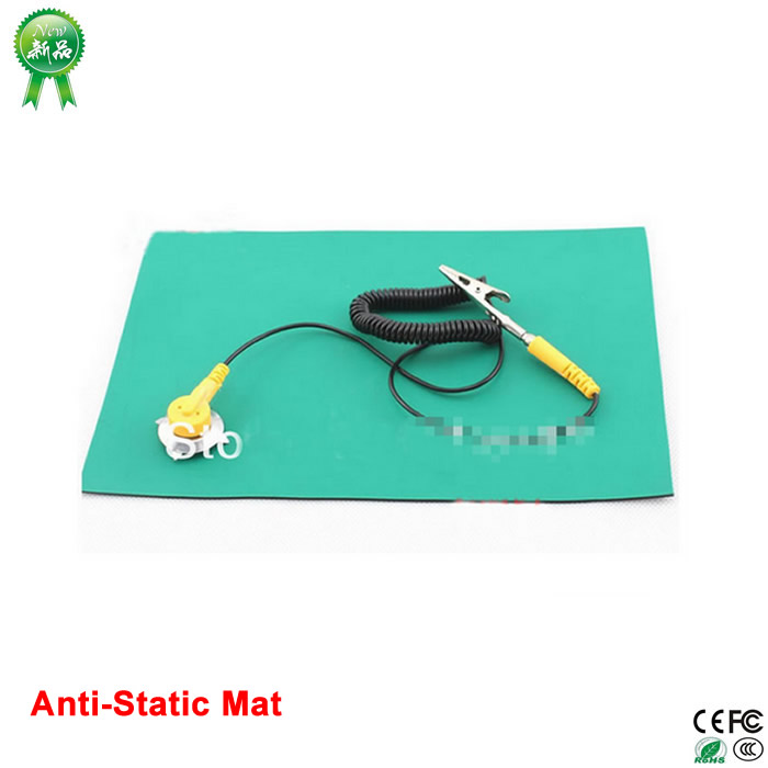 600*500*2mm Anti-Static Mat Antistatic Blanket ESD Mat For Repair Work