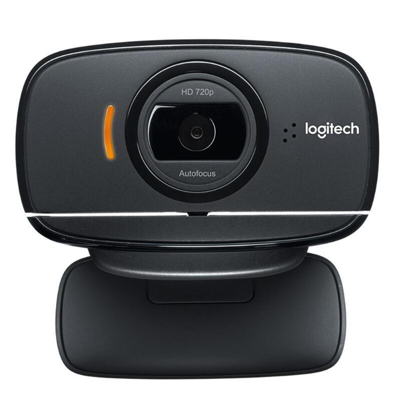 Logitech C525 HD Webcam Portable 360 rotatif 720 p 8 Mega intégré Mic vidéo mise au point automatique appelant USB Web Camer pour Windows 10/8/7 - 2