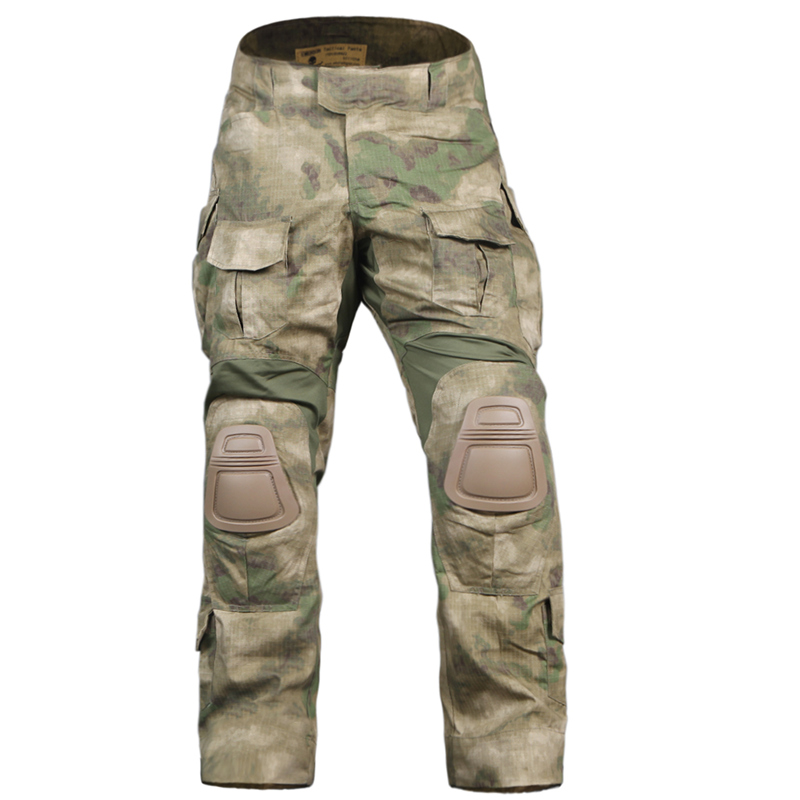 Emerson Tactical bdu <font><b>G3</b></font> <font><b>Combat</b></font> <font><b>Pants</b></font> Emerson BDU Military Army <font><b>Pants</b></font> AT/FG with Knee pad EM7030 image
