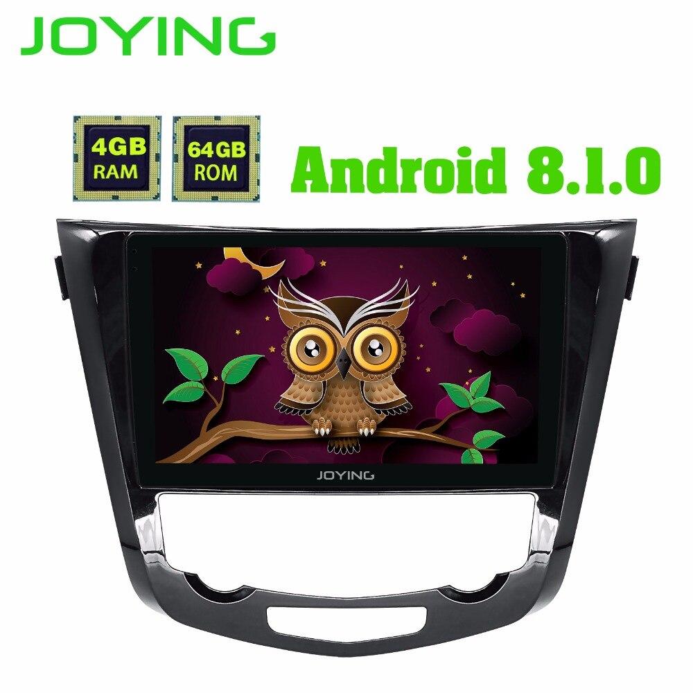 Joying 4 gb RAM Android 8.0 2 din Voiture Radio Navigation GPS Lecteur pour Nissan X-trail 2014 + soutenir caméra de Vue Arrière caméra/Carplay/CFC
