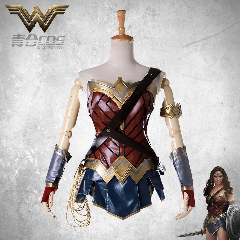 DC битва Диана Униформа Cos косплей костюм полный комплект