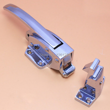 free shipping handle Freezer oven door hinge Cold storage lock  latch hardware pull part Industrial plant
