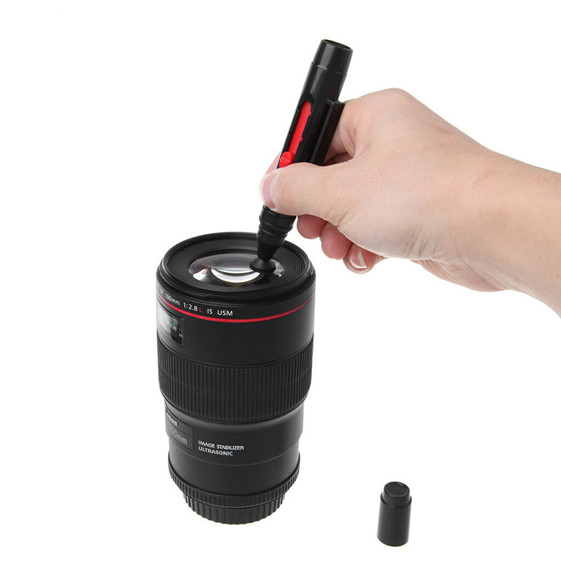New Portable Photo LCD Lens Pen Pocket Cleaning Brush For Digital Camera Lenses