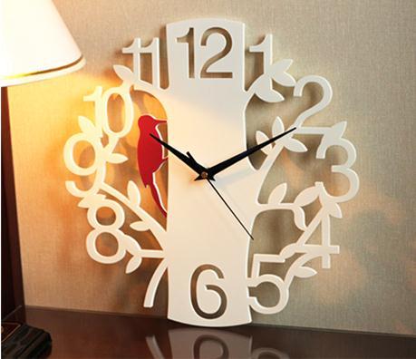 Horloge murale personnalité calme art mode créatif salon grande horloge numérique pics horloge mur monde