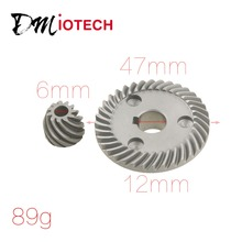 2 Pcs Replacement Spiral Bevel Gear for Makita 9533 Angle Grinder