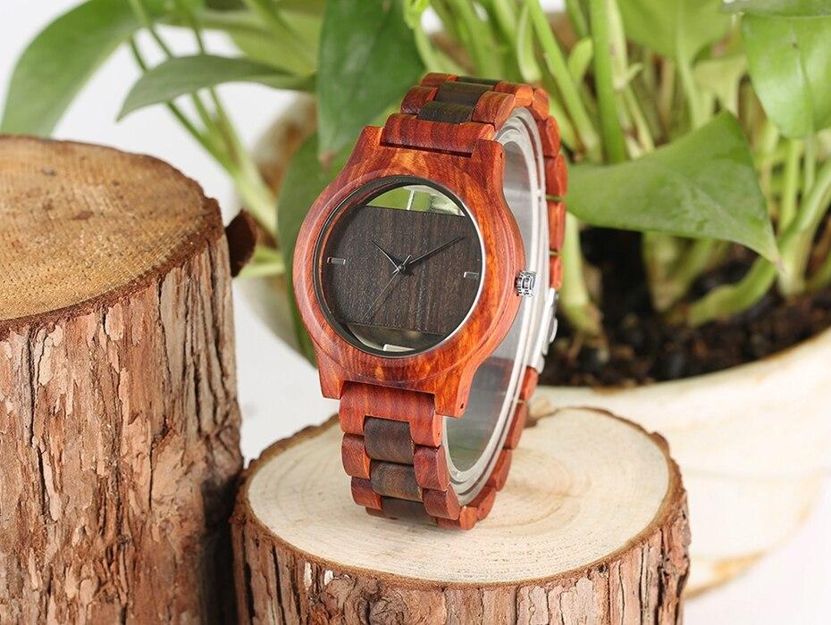 Top Luxury Full Bamboo Wood Quartz Watch Mens Hollow Analog Handmade Bracelet Sports Wristwatch Male Simple reloj de hombre 2017 2018 Gifts (13)