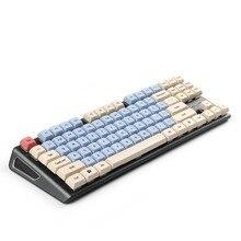 Nuovo Arrivo XDA 87 ANSI Grigio Arancione Misto di Loto Keyset Dye sub di Sublimazione della Tintura Keycap per MX Tastiera Meccanica TKL 61 Filco