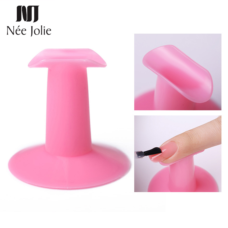 Nail Art Finger Stand Practice Rest Holder for Nail Art Design Painting Drawing Professional Plastic Accessories Nails Tools