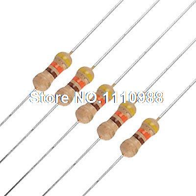 uxcell 600Pcs 1//8W 470 Ohm Axial Lead Type Through Hole Carbon Film Resistors