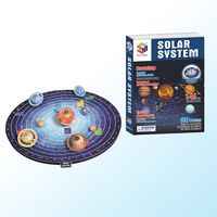 Kids 3D Solar System Model Puzzle Jigsaw Educational Logical Thinking Toys