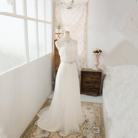 Katristsis d Пляжные Свадебные платья 2018 Vestido De Noiva Praia простой белый шифон Casamento пояса свадебное платье индивидуальный заказ