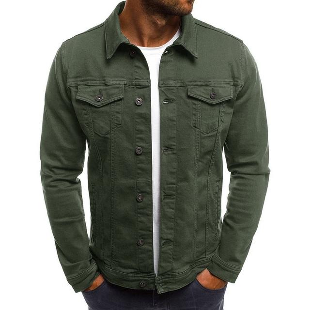 Men's Casual Denim Shirt