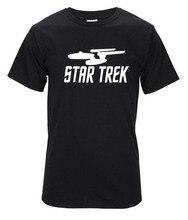 Star Trek T-Shirt Star Wars T Shirt Men 2016 Summer Style 100% Cotton Short Sleeve Round Neck Tshirt Tops Tees Camisetas Hombre