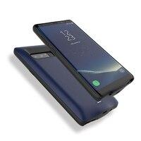 Neue Batterie Ladegerät Fall Für Samsung Galaxy Note 8 Batterie Fall Power Bank Pack Externe Ladegerät Abdeckung Note8 Ladung Backup extra