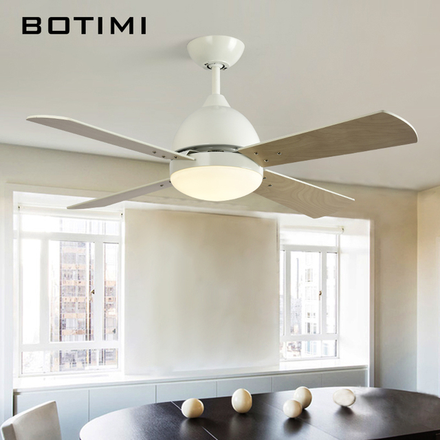 42 inch ceiling fan with light tiny home botimi new arrival 42 inch led ceiling fan for living room modern bedroom lights electric