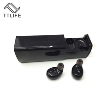 TTLIFE Bluetooth 4.1 Stereo Earphone True Wireless TWS Sports headphones Hands Free with mic Airpod with Charge Box for iPhones