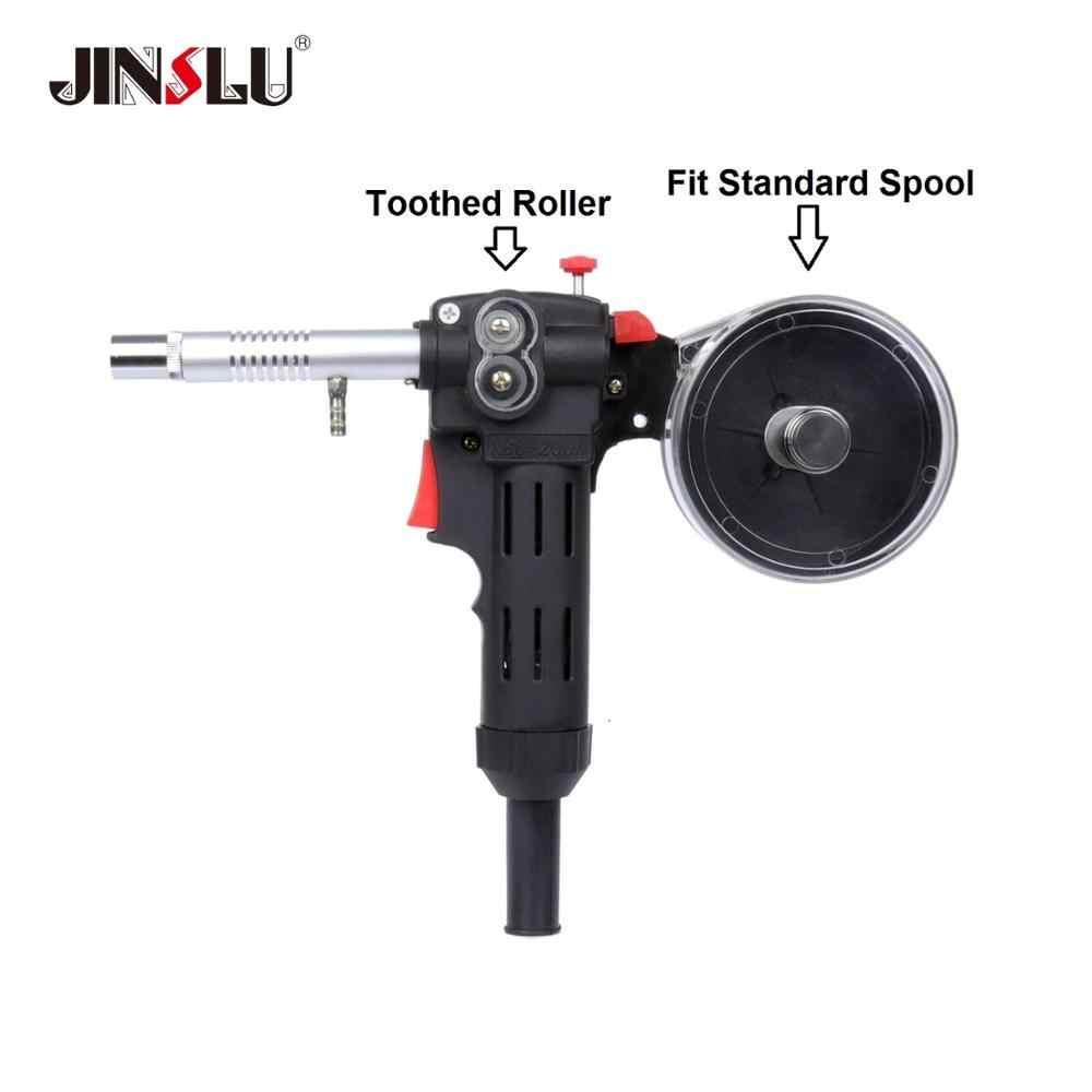 Toothed Roller 10 Feet MIG Spool Gun Wire Feed Aluminum Welder Gun Weld Parts