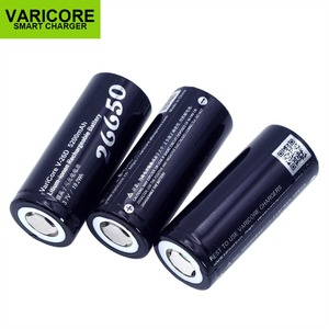 Image 3 - 2PCS VariCore New 26650 Li ion Battery 3.7V 5200mA V 26D Discharger 20A Power battery for flashlight E tools battery