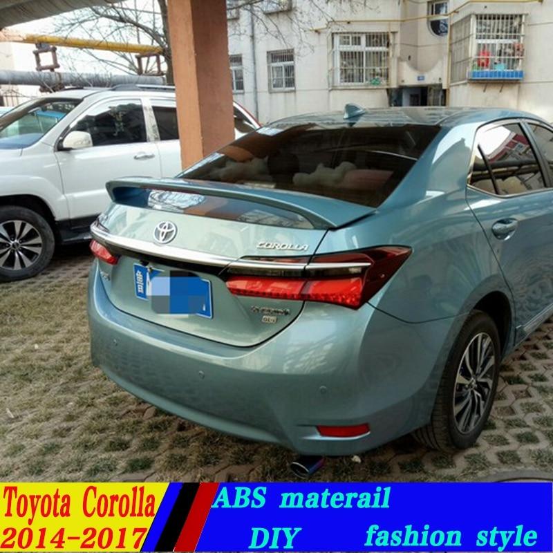 Use For Toyota Corolla Spoiler 2014 2017 Corolla Spoiler