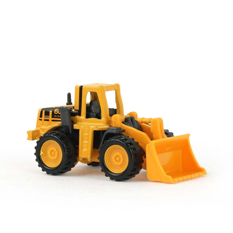 Stora gåvor 8set / lot Pojke Leksaker Bilar Mini Construction Fordonsteknik Bilgrävmaskiner Dumpers Multi Style Barn Leksaker