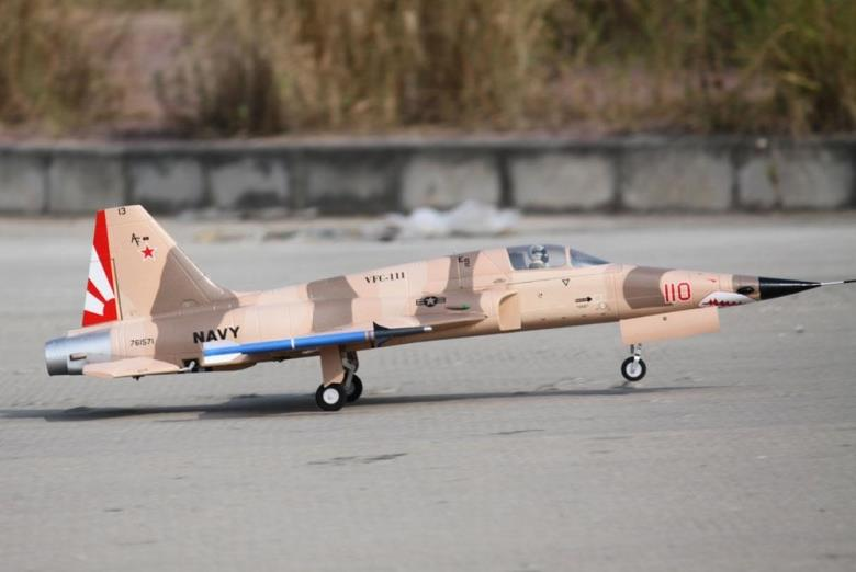 Wingspan 845mm F5 N Tiger Mirage 80mm RC EDF JET Airplane EDF RC Fixed Wing EPO Airplane PNP/ARF/KIT