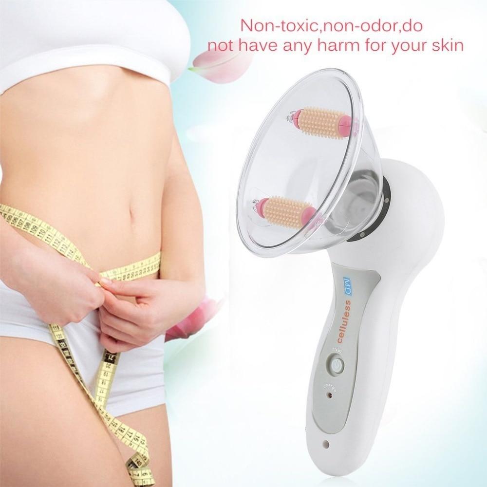 Cuerpo vacío latas Anti-celulitis masaje rodillo masajeador más delgado dispositivo quemador de grasa de ahuecamiento Copa tratamiento de terapia herramienta nos enchufe