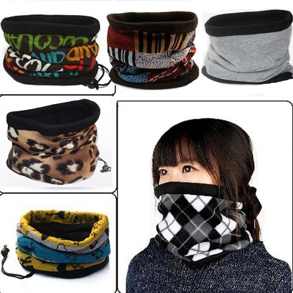 Hats Scarf Muffler Bicycle-Bandana Face-Mask Neck-Warmer-Caps Fleece Winter Men Cycling