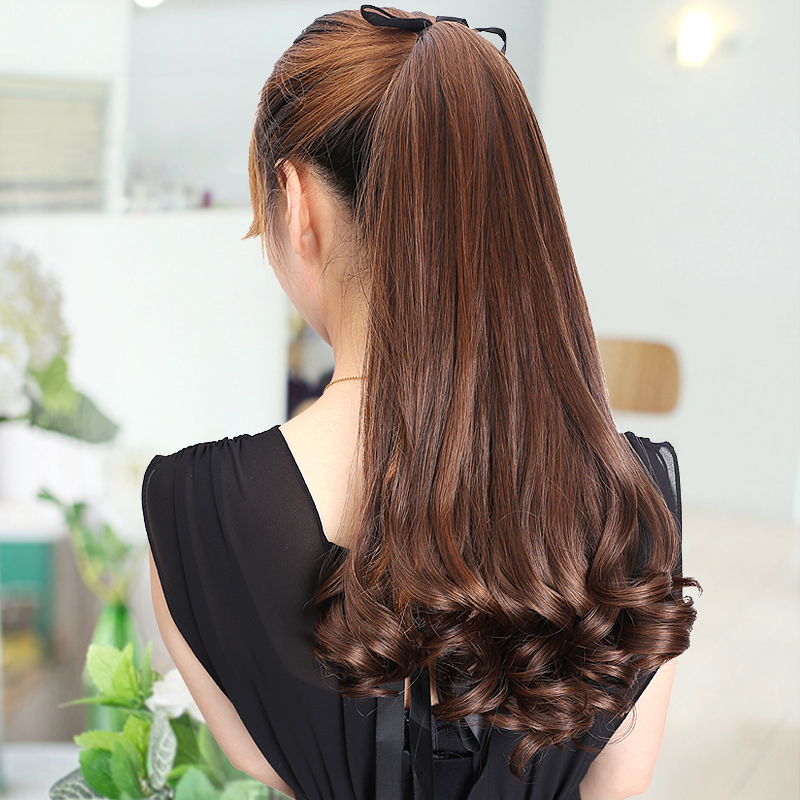 Long Curly Synthetic Ponytail Hair Extension