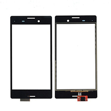 5pcs/lot Best Quality Touch glass Panel For Sony Xperia M4 Aqua E2303 E2333 E2353 Touch Screen Digitizer with logo free ship