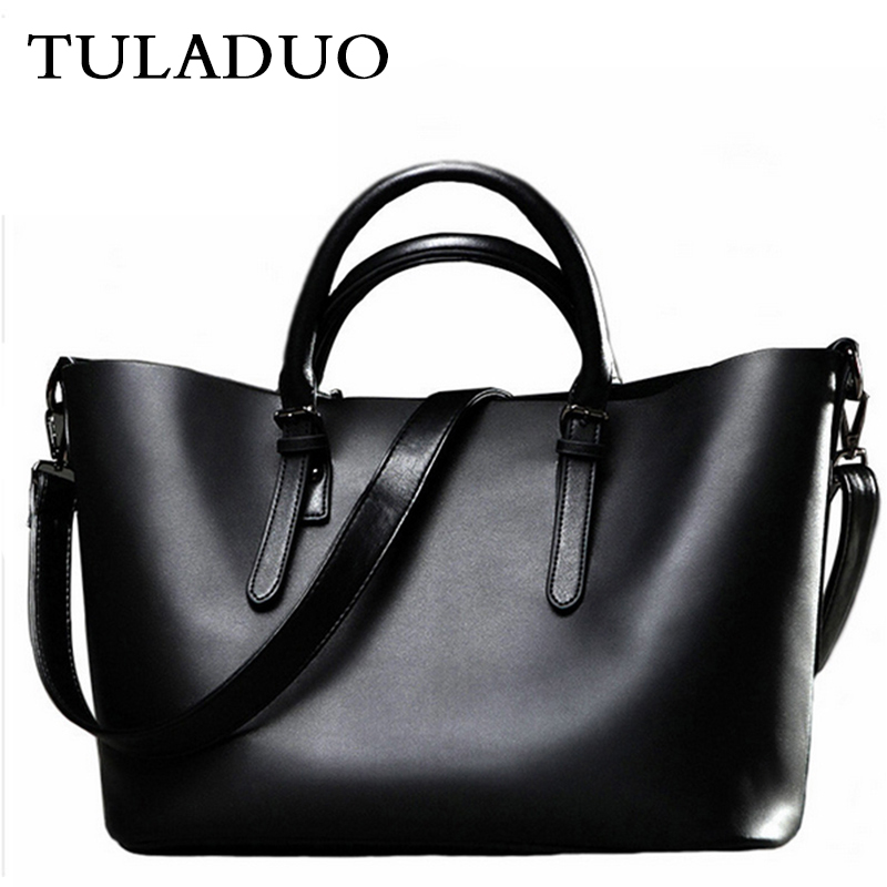 Tuladuo Women Hobos Brand Leather Handbags Sac a Main Big Casual Tote Vintage Beach Crossbody Shoulder Bag New Female Brand Bag
