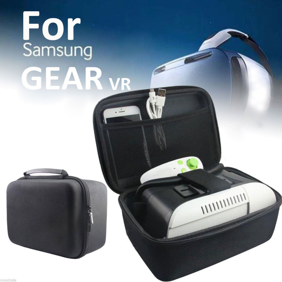 New Arrival 1pc Waterproof Storage Case Bag For Samsung Gear VR Oculus Headset 3D Glasses