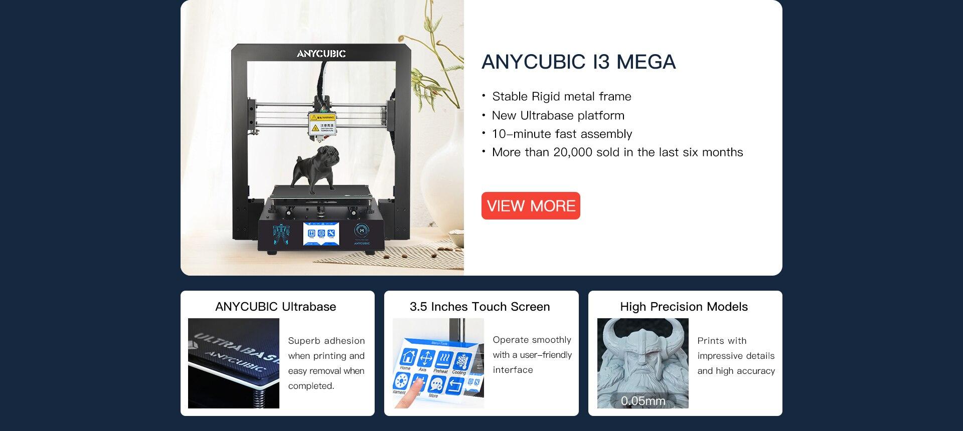 Computer & Büro Anycubic Chiron 3d Drucker Plus Größe Ultrabase Titan Extruder Tft Touchscreen Riesige Bauen Volumen 3d Drucker Kit Impresora 3d