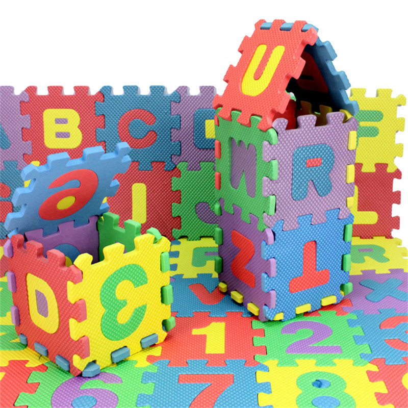 180pcs Lot Educational Alphabet Amp Digital Learning Eva