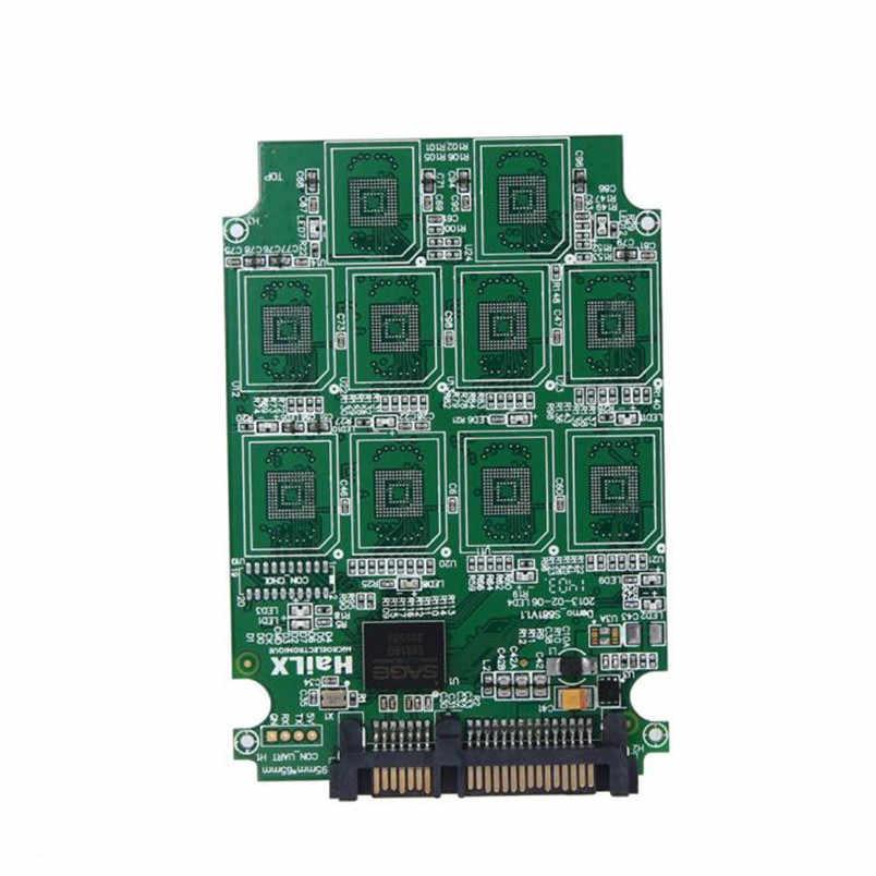 "Reliable New  10 x Micro SD TF Memory Card to SATA SSD Adapter + RAID Quad 2.5"" SATA Converter"