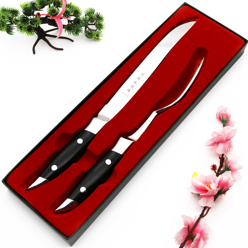 2016 New Black Laguiole Style Stainless Steel Steak font b Knives b font w Wooden Base