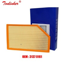 Air Filter Fit For Volvo V70 1.6D 2.0T 2.4D 2.5T 3.2 D5 T6 AWD V60 D3 D4 T3 T4 T5 Model 2001-2007 2008-2015 Oem: 31370161